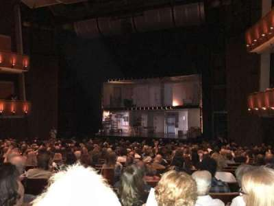 Ahmanson Theatre, section: Orch, row: T, seat: 11