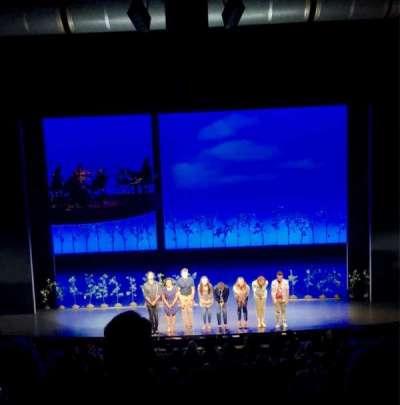 Ahmanson Theatre, section: Mezz, row: G, seat: 26