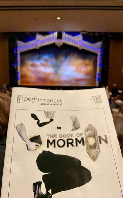Ahmanson Theatre, section: Orchestra, row:  X, seat: 31