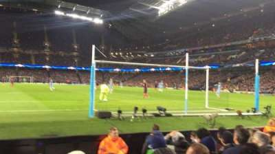 Etihad Stadium (Manchester), section: 137, row: D, seat: 1040