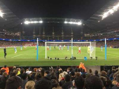 Etihad Stadium (Manchester), section: 137, row: G, seat: 1029