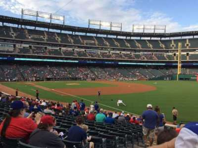 Globe Life Park in Arlington, section: 39, row: 17, seat: 1
