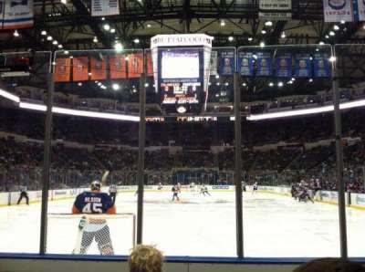 Old Nassau Veterans Memorial Coliseum, section: 122, row: 3, seat: 1