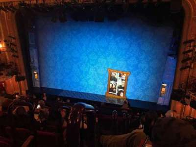 Walter Kerr Theatre, section: Mezzanine, row: F, seat: 2