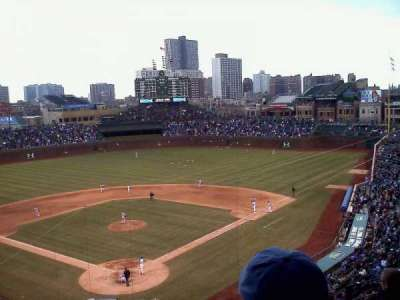 Wrigley Field, section: 421, row: 5, seat: 3