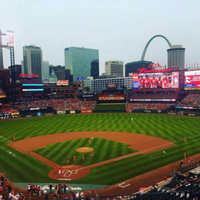 Busch Stadium, section: 249, row: 8, seat: 11