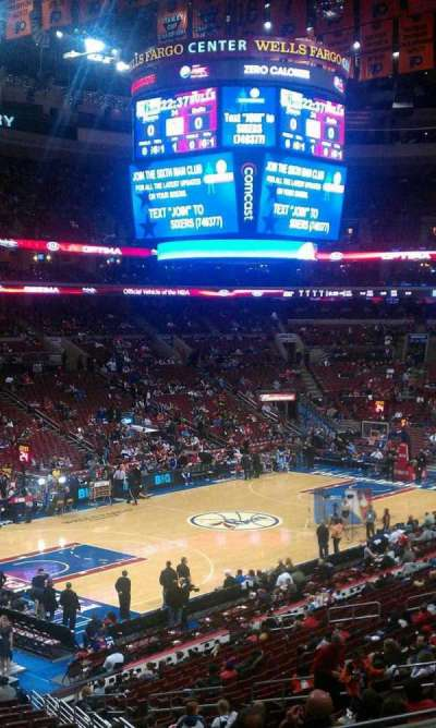 Wells Fargo Center section CB10