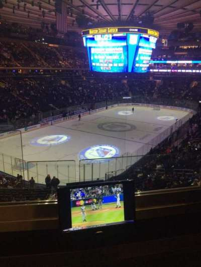madison square garden, section: 220, row: 2, seat: 1