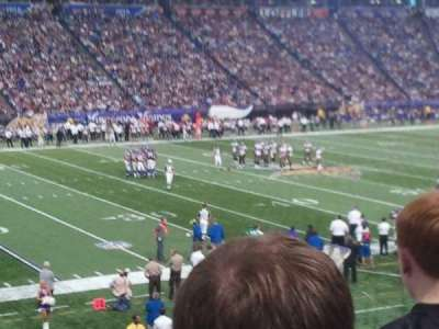 Mall of America Field, section: 115, row: 22, seat: 2