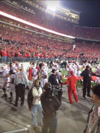Ohio Stadium, section: 37AA, row: 1, seat: 20