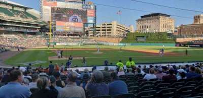 Comerica Park section 124