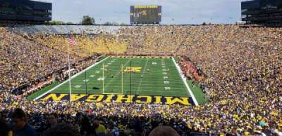 Michigan Stadium section 11