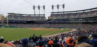 Comerica Park, section: 143, row: 29, seat: 3