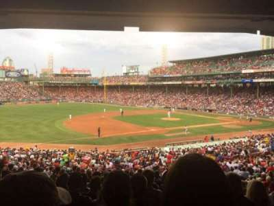 Fenway Park, section: Grandstand 29, row: 10, seat: 11