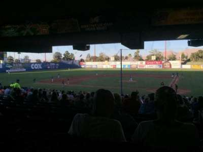 Cashman Field, section: 9, row: ZZ, seat: 1-2