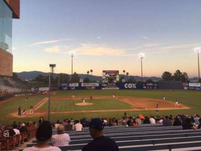 Cashman Field, section: 16, row: ZZ, seat: 5-6