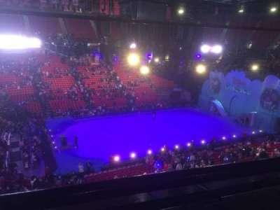 Thomas & Mack Center, section: 211, row: A, seat: 6