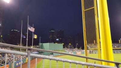 PNC Park, section: 132, row: M, seat: 1