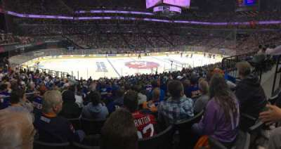 Barclays Center, section: 126, row: 2, seat: 6