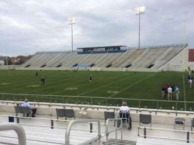 Johnson Hagood Stadium, section: A, row: 12, seat: 16