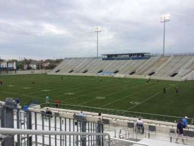Johnson Hagood Stadium, section: A, row: 21, seat: 13