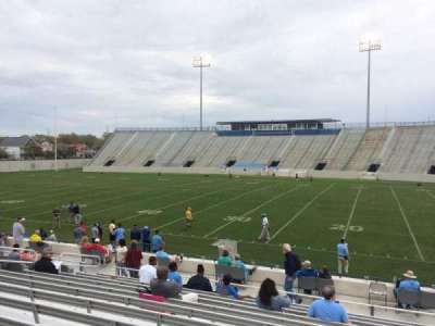 Johnson Hagood Stadium, section: E, row: 14, seat: 11