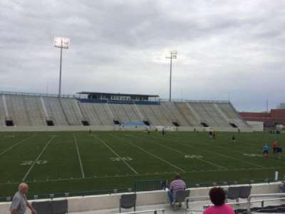 Johnson Hagood Stadium, section: I, row: 10, seat: 6