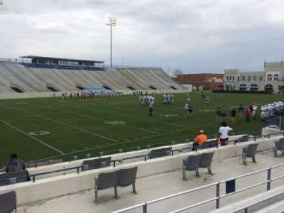 Johnson Hagood Stadium, section: L, row: 8, seat: 18