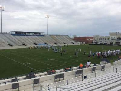 Johnson Hagood Stadium, section: M, row: 16, seat: 3