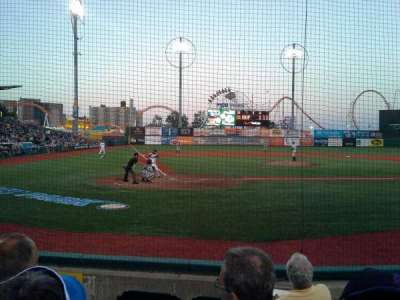 MCU Park, section: 6, row: E, seat: 3