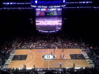 Barclays Center, section: 209, row: 9, seat: 1
