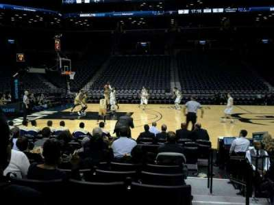 Barclays Center, section: 9, row: 6, seat: 2