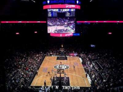 Barclays Center, section: 215, row: 1, seat: 26