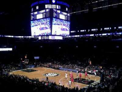 Barclays Center, section: 121, row: 5, seat: 1