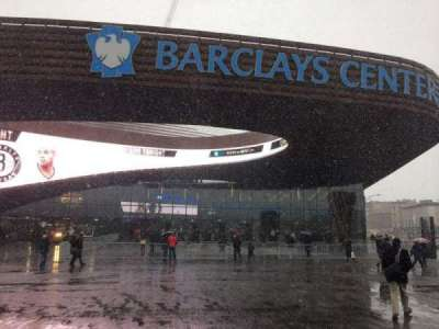 Barclays Center, section: Main Entrance