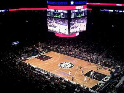 Barclays Center, section: 205, row: 10, seat: 1