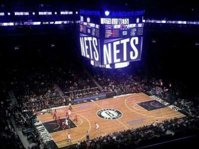 Barclays Center section 227