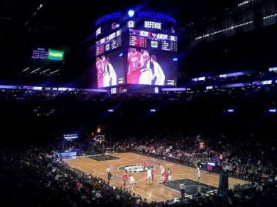 Barclays Center section 104