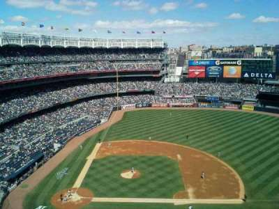 Yankee Stadium section 416
