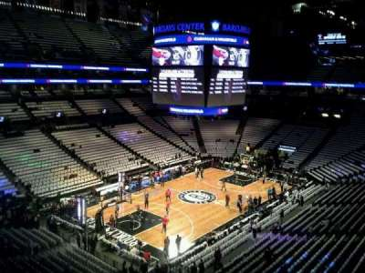 Barclays Center, section: 228, row: 2, seat: 24