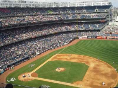 Yankee Stadium section 415