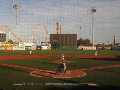 MCU Park, section: 2, row: O, seat: 1