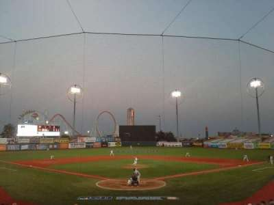 MCU Park, section: 2, row: S, seat: 1