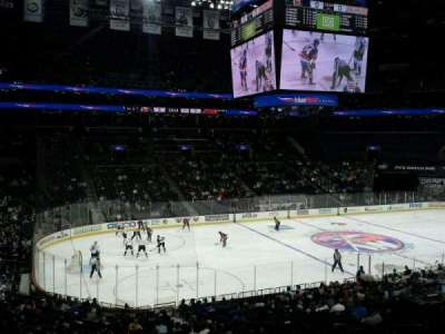 Barclays Center, section: 111, row: 8, seat: 1