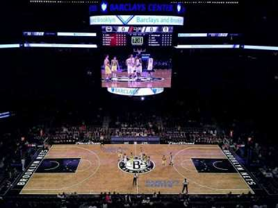 Barclays Center, section: 225, row: 1, seat: 1