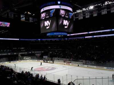 Barclays Center, section: 121, row: 4, seat: 1