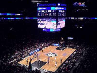 Barclays Center, section: 229, row: 4, seat: 20