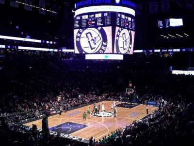 Barclays Center section 114