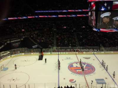 Barclays Center, section: 225, row: 2, seat: 1