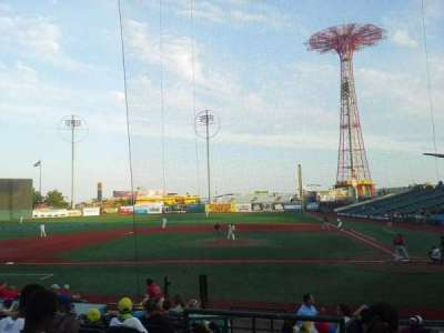 MCU Park, section: 7, seat: 1